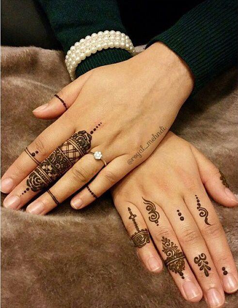 Asymmetric Finger design