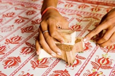 Wood Block Printing- An Age old Textile Art to cherish