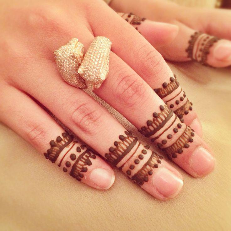 Simple Mehndi Designs For Fingers  U2013 Threads  U2013 Werindia