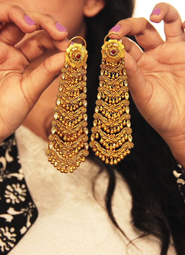 Indian Style Earrings Fashion In India Threads