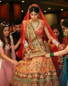 The double dupatta style