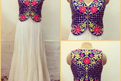 Embroidered Waistcoat_Threads_WeRIndia