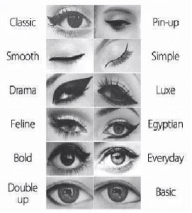 Eyeliner-different strokes