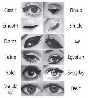 Eyeliner-different strokes