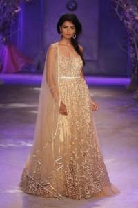 A model in Jyotsana Tiwari creation