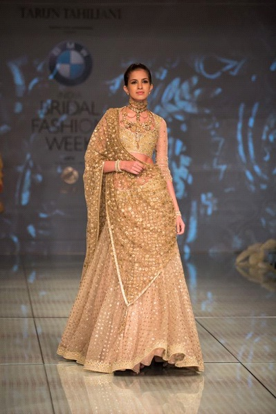 A Model in Tarun Tahiliani