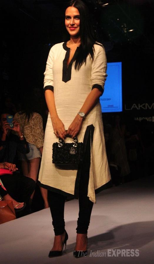 Neha Dhupia at Designer Payal Singhal's show