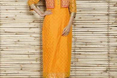Textured waistcoat_ThreadsWeRIndia