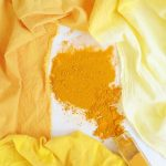Dying Naturally with Turmeric