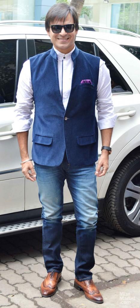 Single Button waistcoat