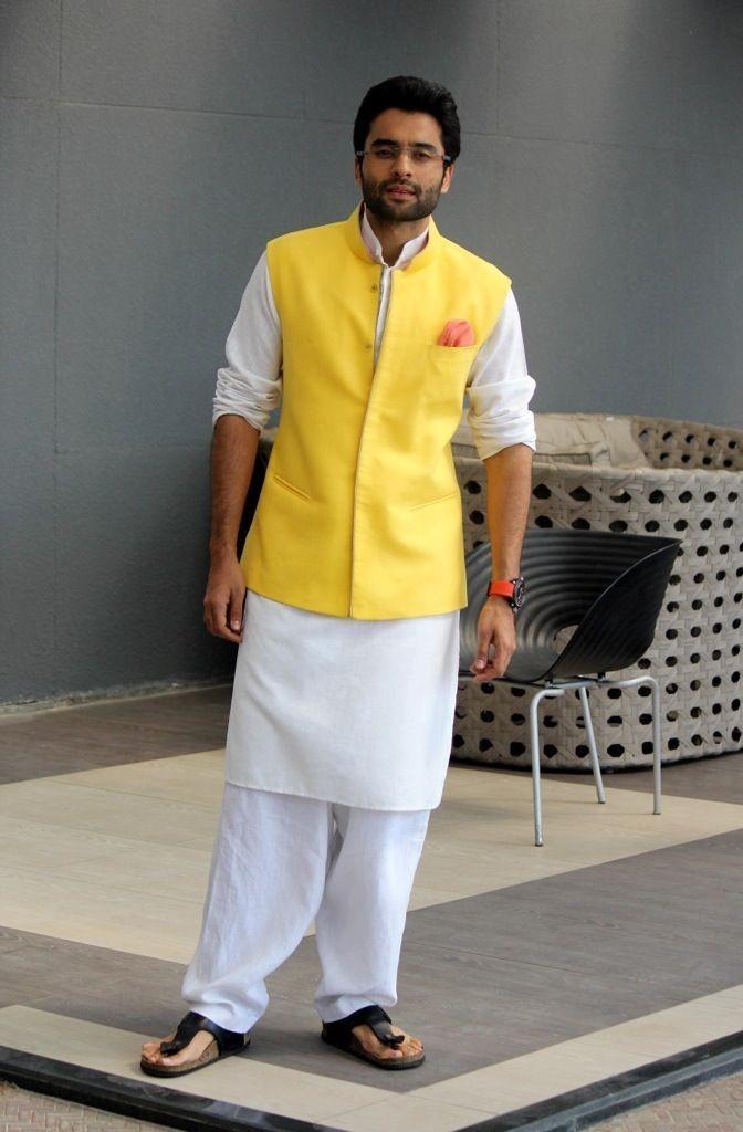 Jacky Bhagnani in Ethnic waistcoat