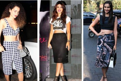 The Trending Variations of Crop Tops