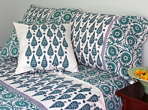 Block Printed Home Textiles