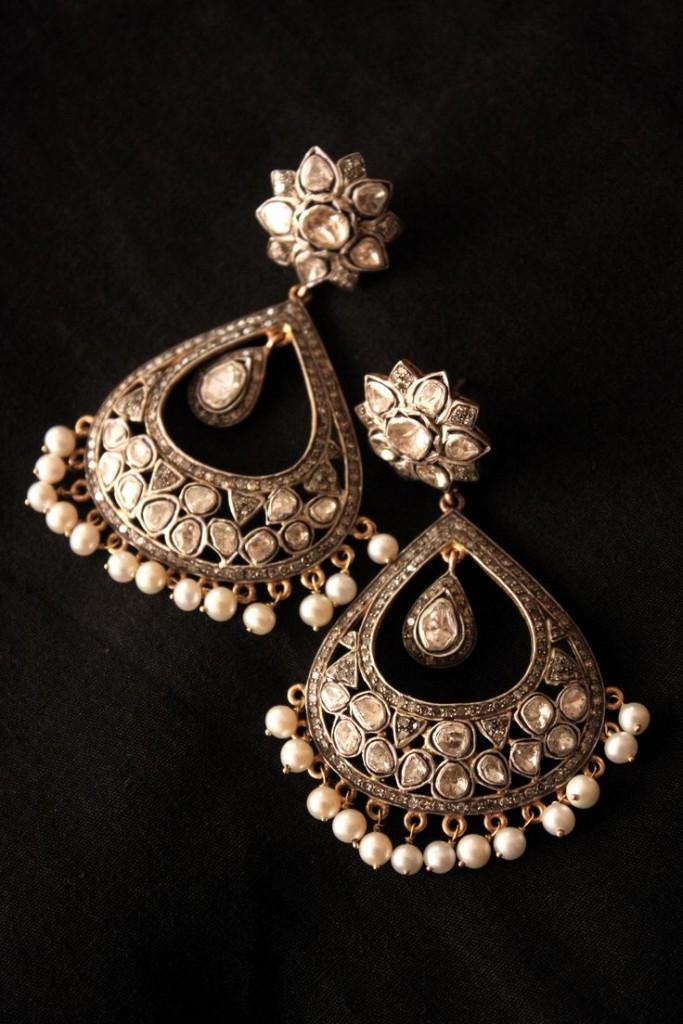 Drop style earring