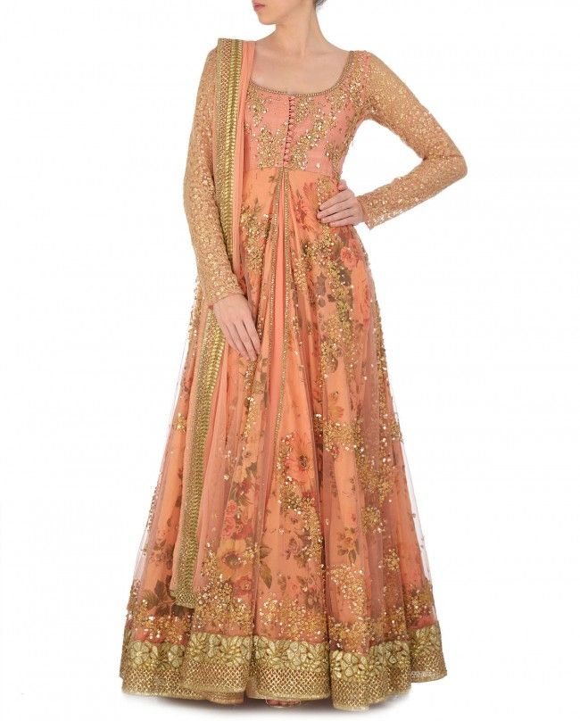 Anarkali double layer
