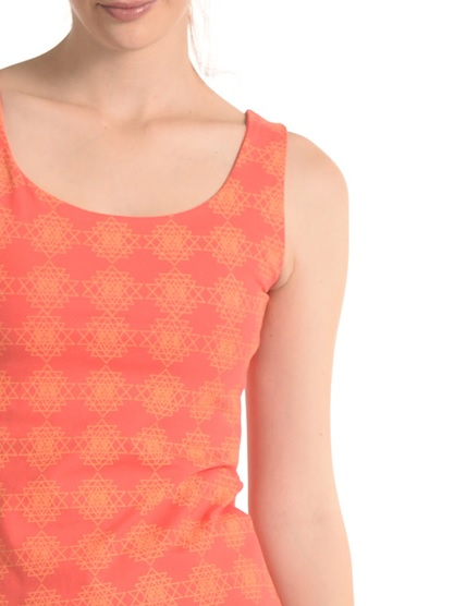 Jane Tank In Coral