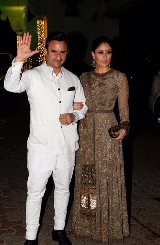 Kareena Kapoor at Shipa Shetty Diwali Party