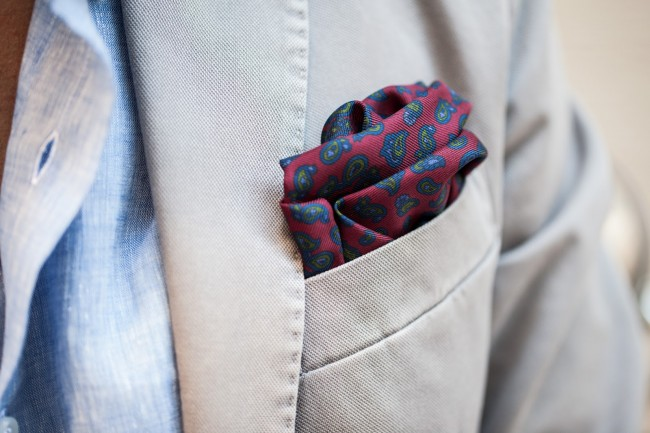 Printed Pocket-Square