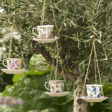 teacup hangings