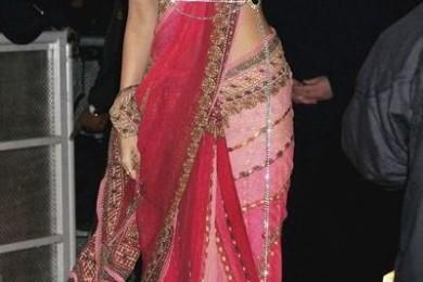 Belt Style Saree