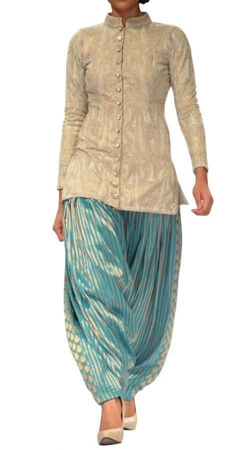 Brocade Patiala Salwar