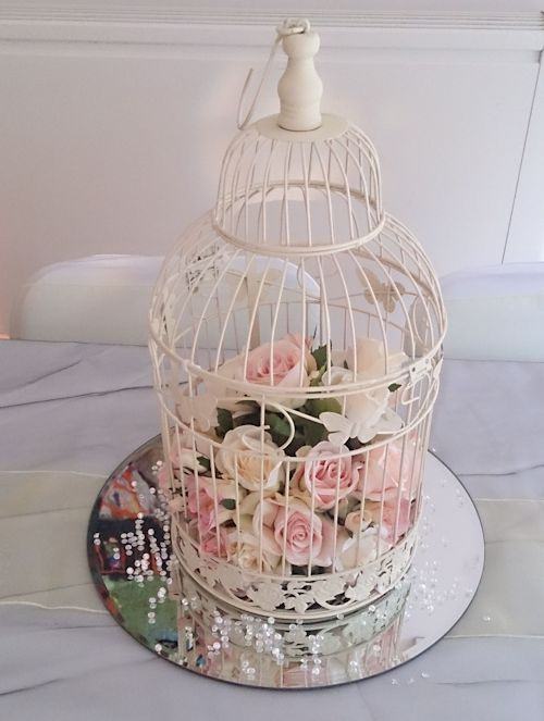 Cage and candle