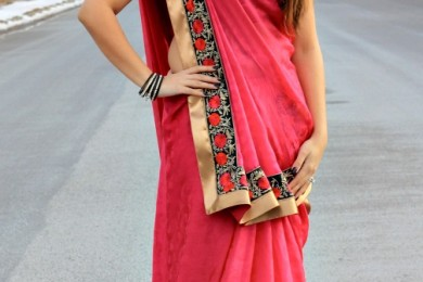 Traditional Saree Drapes from India