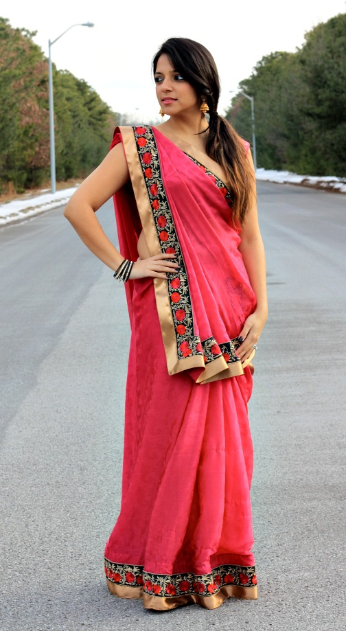 Traditional Saree Drapes From India Fashion In India