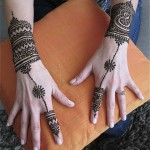 Heena- The Haath Phool Style