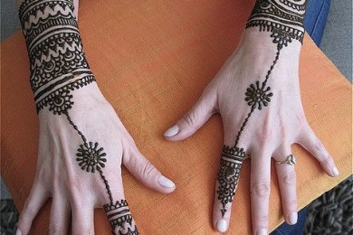 Haath Phool Mehndi