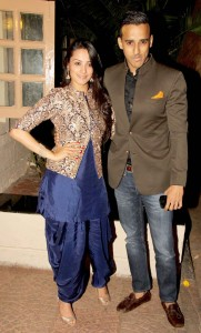 Jacket and patiala salwar