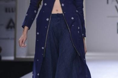 Jacket style kurta & palazzo