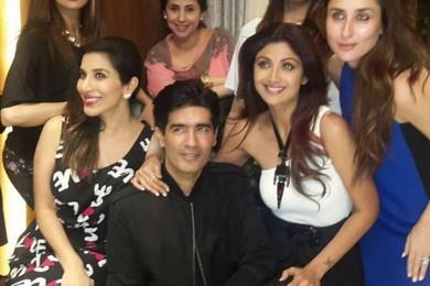 Bollywood At Manish Malhotra's Birthday