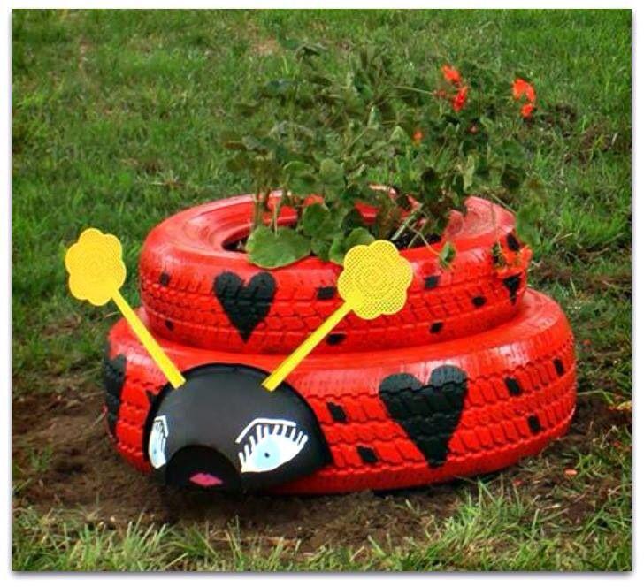 Tyre Ladybug