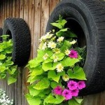Recycle Old Tyres- Garden Accessories