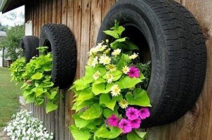 Tyre Wall Hangings