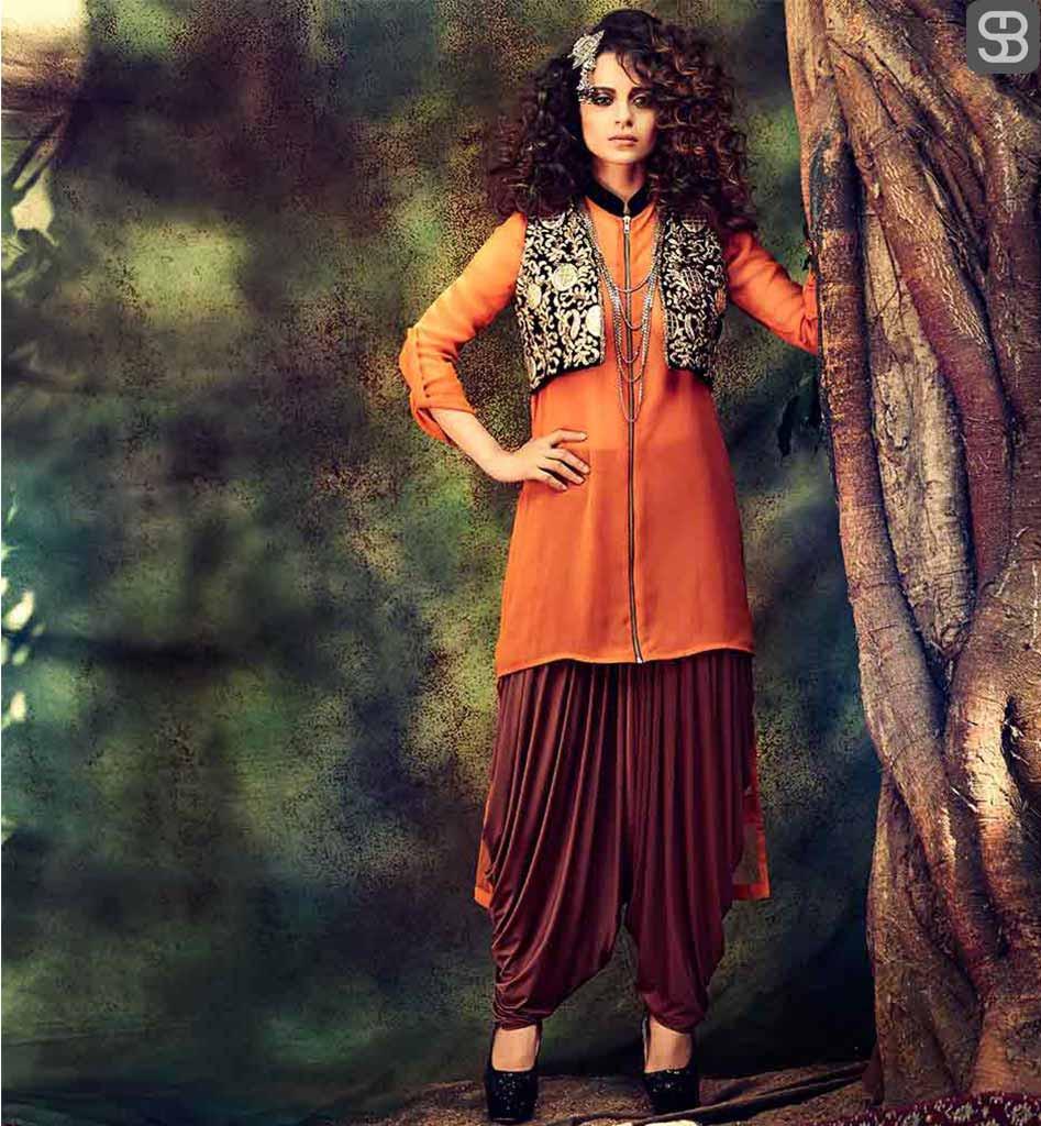 Waistcoat and Patiala Salwar