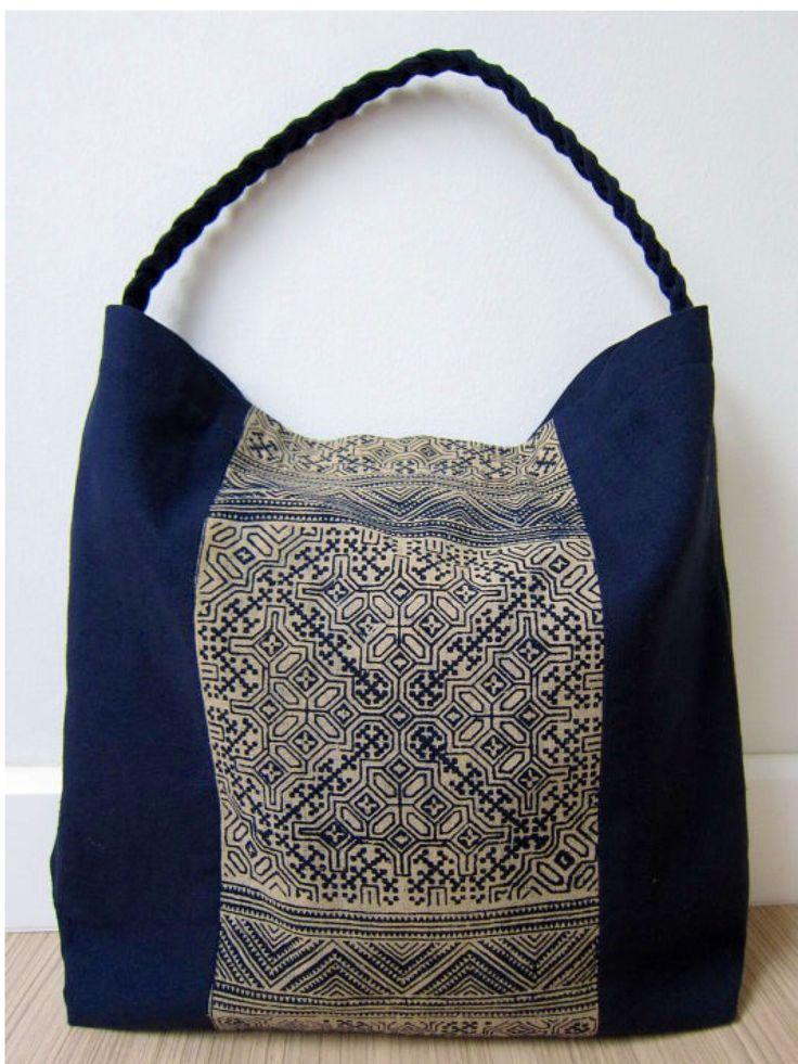 Block Print Bag