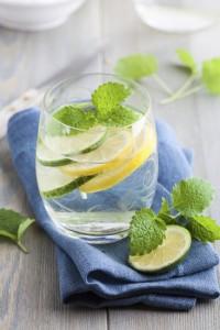 Cucumber, Orange Mint Water