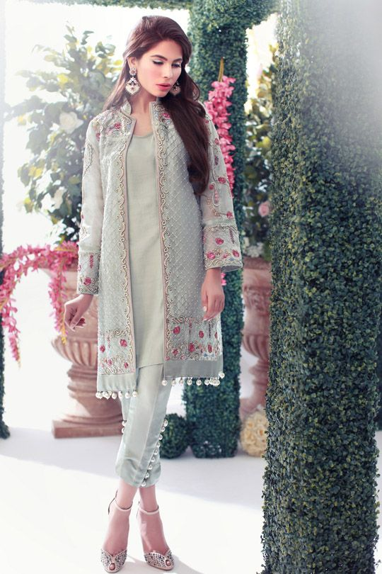 Kurta and long jacket