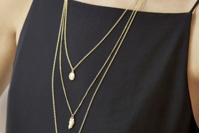 Multi layered Chain Neckpiece