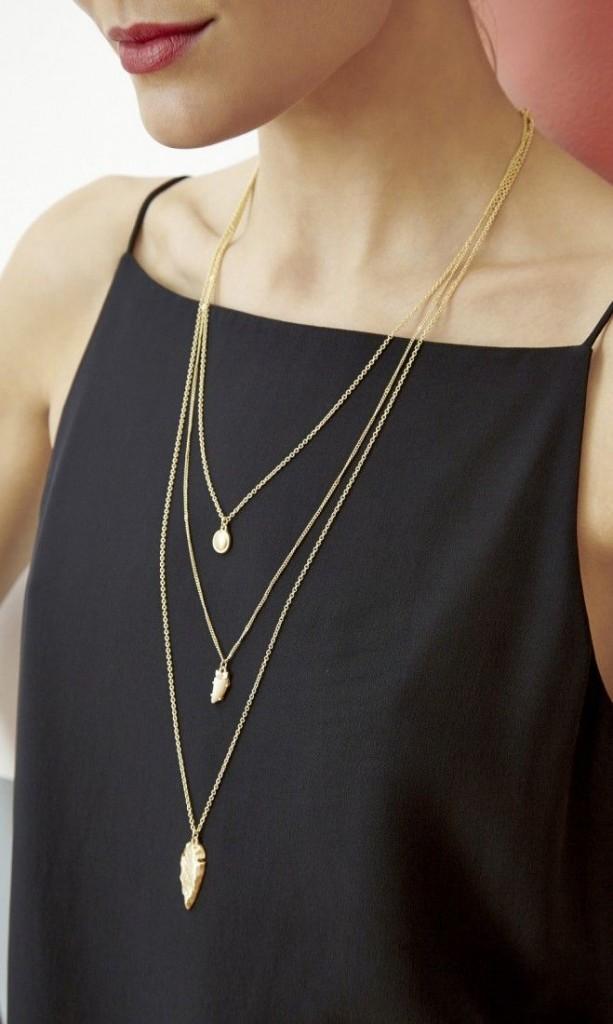 Multi layered Chain Neckpiece