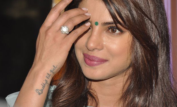 Priyanka Chopra Tattoo