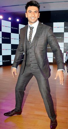 Ranveer Singh Man With A Style Fashion In India Threads