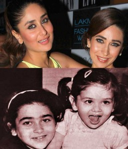 Karishma and Kareena Kapoor