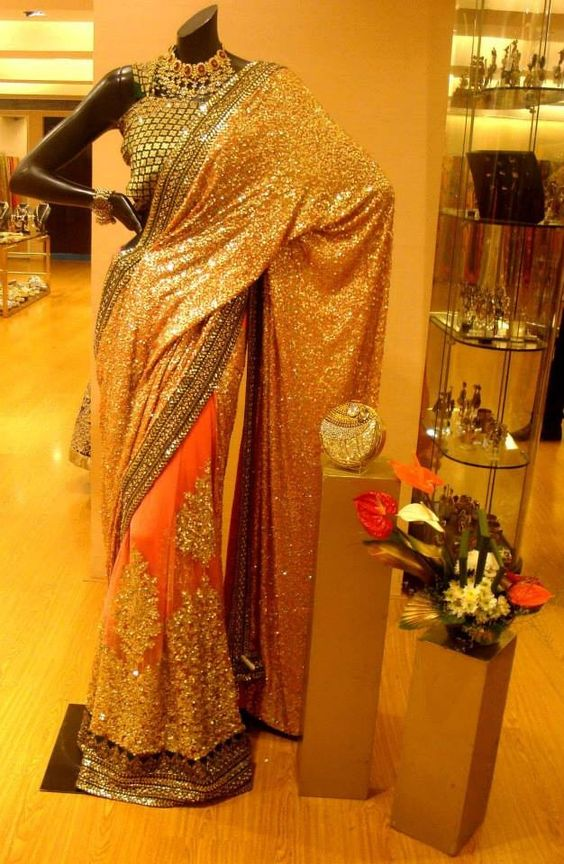 Sequence saree