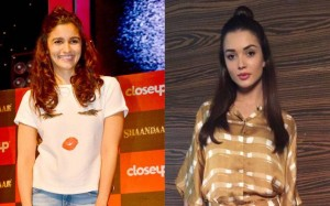 Alia and Amy Jackson