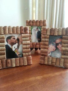 Cork Photoframes