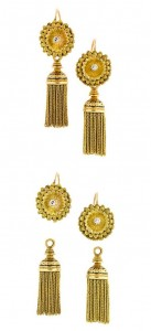 Floral Chain Earrings
