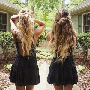 Hun Bun For Curly Hair